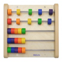 Abacus for wall mounting